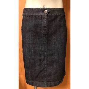 J. Crew Pencil Denim Skirt, size 10